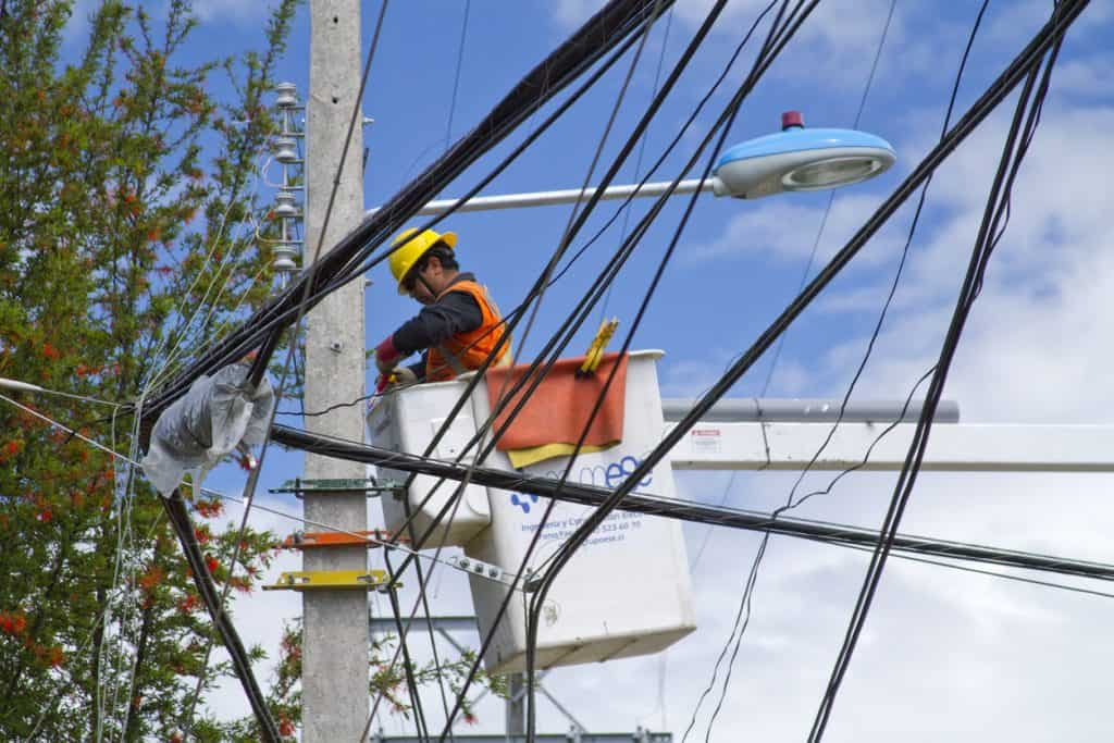 gestion réseau electrique technicien